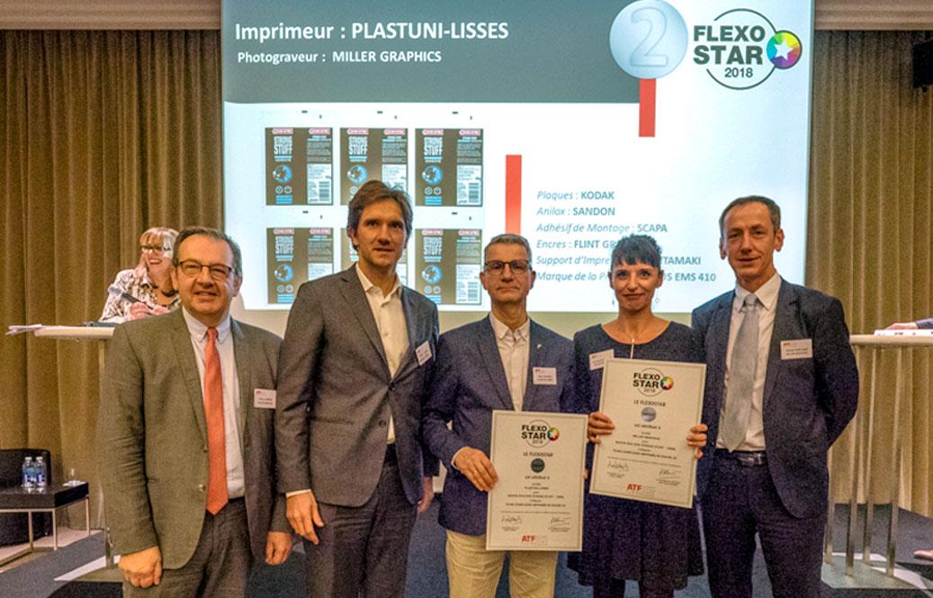 Prix Flexostar 2018 pour Somater