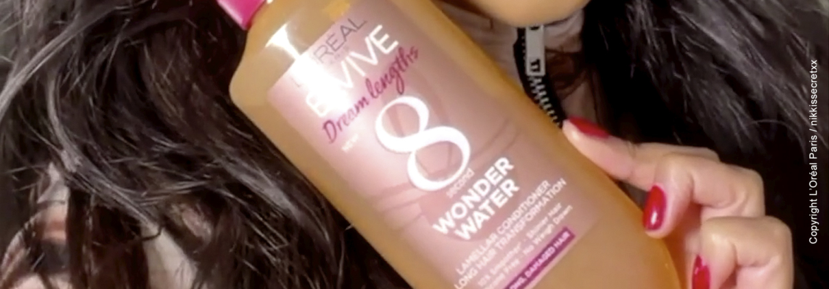 "Tube L'Oréal ""Wonder Water"""